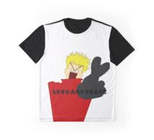 """Trigun - """"Love and Peace!"""" Graphic T-Shirt"""
