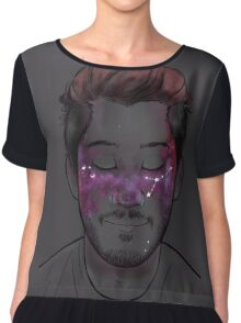 Space Freckles - Cancer Markiplier Chiffon Top