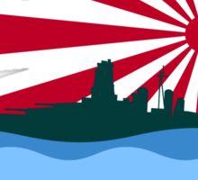 Imperial Japanese Battleship Sticker