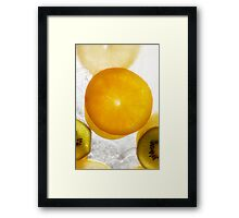 Fire & Ice series 6 Framed Print