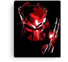 Predator Vector Art Canvas Print