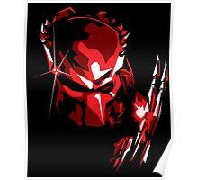 Predator Vector Art Poster