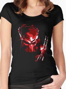 Predator Vector Art Women's Fitted Scoop T-Shirt