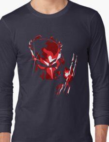 Predator Vector Art Long Sleeve T-Shirt