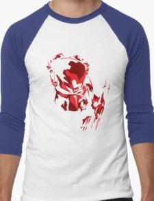 Predator Vector Art Men's Baseball ¾ T-Shirt