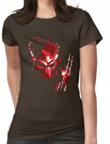Predator Vector Art Womens Fitted T-Shirt