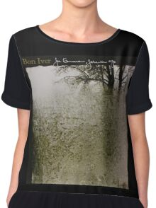 Bon Iver - For Emma, Forever Ago - Album Artwork Cover Chiffon Top