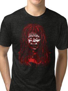 Reagan Exorcist Vector Art Tri-blend T-Shirt