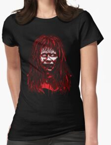 Reagan Exorcist Vector Art Womens Fitted T-Shirt