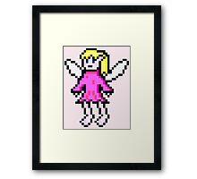 Pink Fairy Framed Print