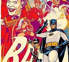 Classic Batman by Alexandria  Rodriguez
