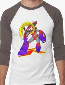 ProtoMegaman! Men's Baseball ¾ T-Shirt