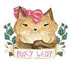 Foxy Lady [paws!] by pidzson