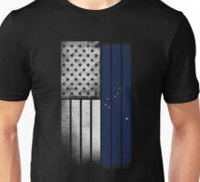 USA Vintage Alaska State Flag Unisex T-Shirt
