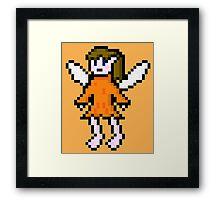 Orange Fairy Framed Print