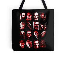 Horror Movie Icons Vector Art Tote Bag