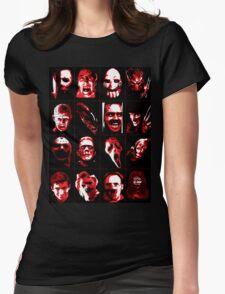 Horror Movie Icons Vector Art T-Shirt