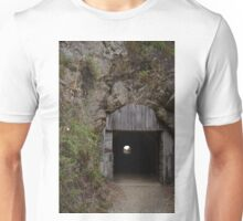 Carve a tunnel of hope through the dark mountain of disappointment Unisex T-Shirt
