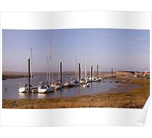 Nice light, Burnham-on-Sea estuary. Poster