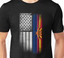 USA Vintage Arizona State Flag Unisex T-Shirt