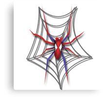 Familiar Spider Canvas Print