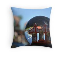 3 in 5 SnowGlobe Throw Pillow