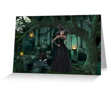 Night of the Witch Greeting Card