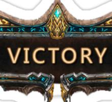 Victory League of Legends Sticker