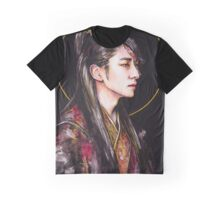 THE HEART OF A WOLF, STAR OF A KING | WANG SO  Graphic T-Shirt