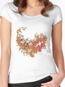cipher n. 10  (original sold) Women's Fitted Scoop T-Shirt