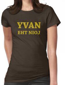 YVAN EHT NIOJ Womens Fitted T-Shirt