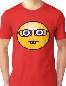 Nerd Geek Emoji Emoticon Smiley Face T Shirt Unisex T-Shirt