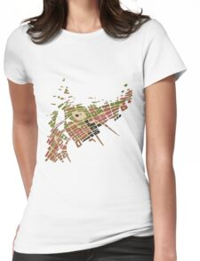 cipher n. 9  (original sold) Womens Fitted T-Shirt