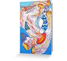 Jellyfish Dreams Greeting Card