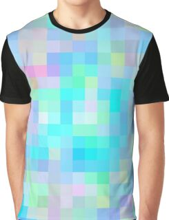 Re-Created Colored Squares No. 1 by Robert S. Lee Graphic T-Shirt