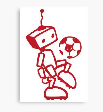 soccer player Canvas Print