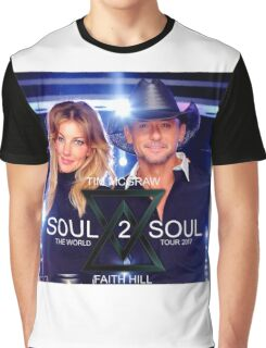 TIM McGraw & FAITH HILL TOUR 2017 - limited edition cover #a Graphic T-Shirt