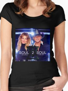 TIM McGraw & FAITH HILL TOUR 2017 - limited edition cover #a Women's Fitted Scoop T-Shirt
