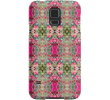 Pink Floral Fusion Kaleidoscope  Samsung Galaxy Case/Skin