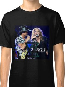 TIM McGraw & FAITH HILL TOUR 2017 - limited edition cover #b Classic T-Shirt