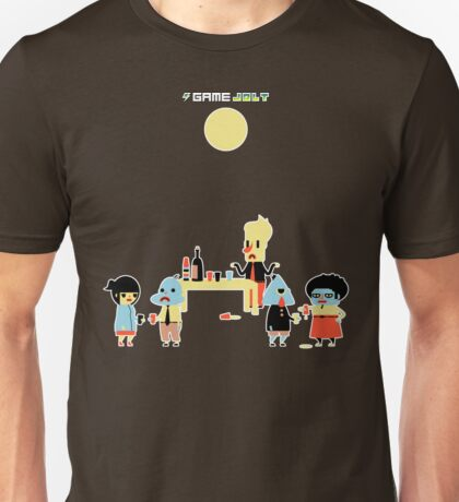 Game Jolt Party - Textless Version Unisex T-Shirt