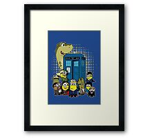 Doc Minion 12 and Chums Framed Print