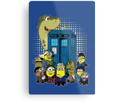 Doc Minion 12 and Chums Metal Print