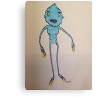 Ice cream creature Canvas Print