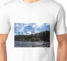Sunny Days on The River Unisex T-Shirt
