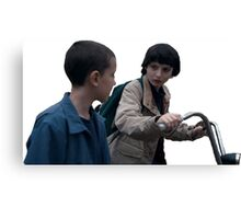 Mike and El Canvas Print