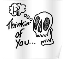 8bit thinking of u  Poster
