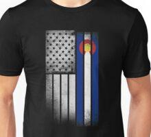 USA Vintage Colorado State Flag Unisex T-Shirt