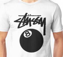 hot seller STUSSY edition eight ball big  Unisex T-Shirt