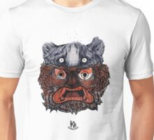 A frightened tiger Unisex T-Shirt